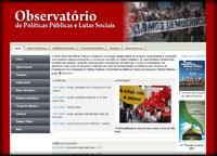 Observatório de Políticas Públicas e Lutas Sociais do Programa de Políticas Públicas da Univ. Federal do Maranhão - UFMA